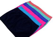 Women's Basic Stretch Strapless Bandeau Bra Tube Top Pack of 6 (6 Tube Bras)~~~