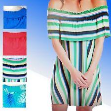 Ladies Marks & Spencer Bardot Dress Sizes 6-24 M&S Summer Beach
