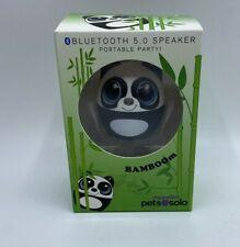 My Audio Pet Bluetooth Portable 5.0 Speaker Sound Beyond Size Panda Bear Bamboom