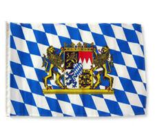 "12x18 12""x18"" Bavaria Lion Crest Sleeve Flag Boat Car Garden"