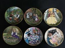 6 Kaiser Porcelain Classic Fairy Tales Collector Plate Gerda Neubacher Mint
