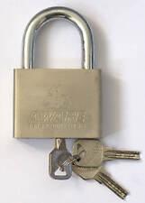 70mm Padlock Waterproof Outdoor 3 keys gate shed garage security lock heavy duty