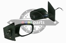 TOYOTA YARIS SEDAN 1/2006-ON RIGHT SIDE DOOR MIRROR ELECTRIC BLACK - NO LIGHT