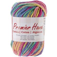 Premier Home Cotton Yarn ~ RAINBOW ~ 1.94 oz 96 yds   FREE SHIP