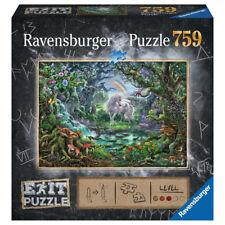 Ravensburger The Unicorn 759 Piece Escape Puzzle Exit Puzzle