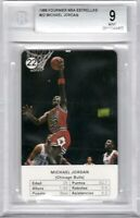 1988 Fournier Estrellas #22 Michael Jordan Chicago Bulls HOF MINT BGS 9