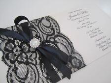 Handmade DL 'Miles' Wedding Invitation (Or Engagement) SAMPLE