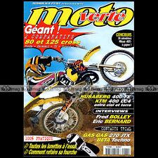 MOTO VERTE N°272-b KTM 400 LC4 HUSABERG FE YAMAHA YZ TM 125 HONDA CR 80 125 1996