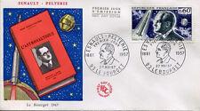 FRANCE FDC - 609 1526 1 ESNAULT PELTERIE - 27 Mai 1967