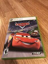 Cars (Microsoft Xbox 360, 2006) Mint Disk Works VC8