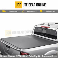 Clip On Ute Tonneau Cover to fit Nissan Navara NP300 Dual Cab Without Sports Bar