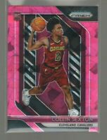 2018-19 Panini Prizm #170 Collin Sexton RC Pink Ice Prizms Cleveland Cavaliers