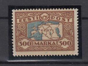 AY5551/ ESTONIA – MI # 54 MINT MH – CV 240 $