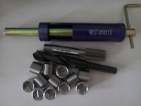 lot of 20pcs #8-32 Helicoils .246 long screw locking Steel
