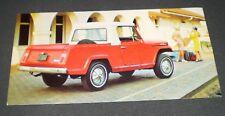 Jeepster Commando Factory Postcard (1966)