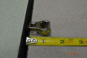 """SNAP ON 1/2""""  3/8"""" DR  FLARENUTCROWFOOT WRENCH U.S. MADE"""