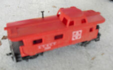 Vintage 1970s HO Scale AT&SF Sante Fe 7240 Red Caboose Car