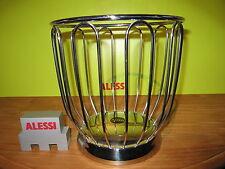 ALESSI *NEW* Corbeille à agrumes inox brillant D.22cm H.22,5cm 370