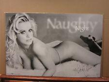 Nikki Cheri 1988 Night Hot girl ORIGINAL man cave car garage Vintage Poster 2152