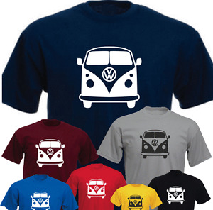 Camper Van Retro Brand New T-shirt Birthday Present Gift