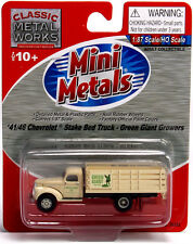 1941/46 Chevrolet Stake Bed Truck For Green Giant Growers - Ho-Scale