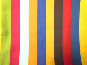 Bolster Cover*Striped Cotton Canvas Neck Roll Tube Yoga Massage Pillow Case*AK1