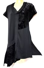 plus sz XS / 14 TS TAKING SHAPE Ornate Tunic soft stretchy chic luxe top NWT!