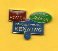 Pin's lapel pin pins CAR AUTO CONCESSIONNAIRE KENNING LOGO ROVER LAND ROVER