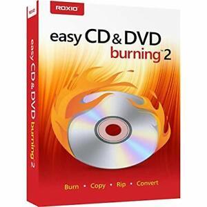 Roxio Easy CD & DVD Burning 2 | Disc Burner & Video Capture PC Disc