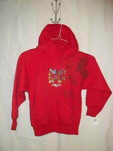 Walt Disney World Mickey Mouse Youth Red Hoodie Sweatshirt-S (8)
