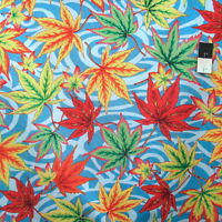Philip Jacobs PWPJ080 Maple Stream Blue Cotton Quilting Fabric By Yard