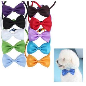 Puppy Elegant Necktie Bow Tie Dog Party Dress Suit Pet Adjustbale Bowknot Collar