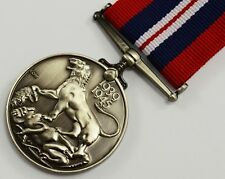 Superb Full Size Replica WW2 War Medal 1939-1945 with Ribbon, George VI