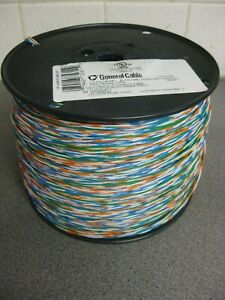 General Cable 7026156 Cross Connect Telephone Wire 24AWG 2.5PR (2 Pair+1) 1000ft