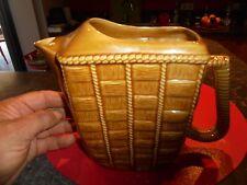 Ancien Pichet Cannage Céramique idéal verseur eau de l'Apéritif Ricard ou Pastis
