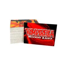 1997 Comic Images Vampirella Blood Lust Trading Card Set (72) Nm/Mt