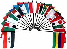 "Arab League World Desk Flag SET-20 Polyester 4""x6"" Flags"