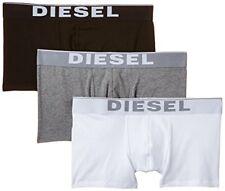 Diesel Kory Jeu de 3 Boxer Blanc Gris Noir Caleçon 00cky3-ontga-04 L