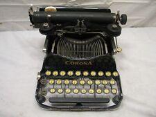 Clean Antique 1923 Corona 3 Three (Pre-Smith) Portable Folding Typewriter