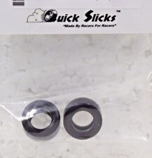 QUICKSLICKS SC02F SILICONE TIRES FOR SCALEXTRIC TRANS AM... 1/32 SLOT CAR PARTS