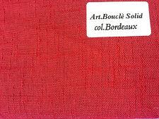 tejido tipo linóleo bouclé color liso para cortinas cortinas tapicería alto 3,10