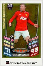 2012-13 Match Attax Legend Foil Card #500 Wayne Rooney (Man Utd)