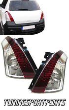 REAR TAIL LED LIGHT RED-WHITE FOR SUZUKI SWIFT III SPORT 05-10 LAMPS FANALE