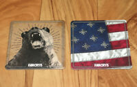 Far Cry FarCry 5 Rare Promo Beverage Coaster Set PlayStation 4 PS4 Xbox One