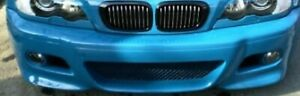 BMW OEM E46 M3 Coupe Or Convertible 2001 Model Year Primed Front Bumper Cover