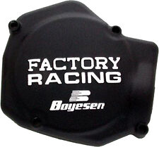 BOYESEN FACTORY RACING IGNITION COVER (BLACK) Fits: Honda CR125R