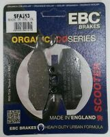 EBC Organic FRONT Disc Brake Pads (1 Set) Fits PIAGGIO FLY 125 (2005 to 2015)