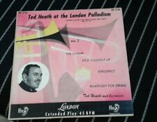 TED HEATH at the London Palladium EXC 1953 1ST LONDON 45rpm EP Johnny Hawksworth