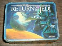 Vintage 1983 Return of the Jedi Lunchbox Collectible