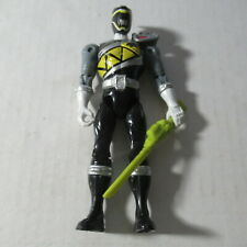 Power Rangers Black Ranger Action Figure Loose With Weapon